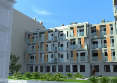 Apartamenty Jagiellońskie - dziedziniec