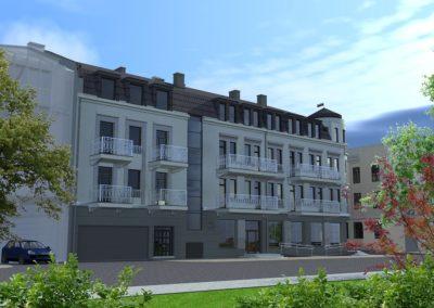 Apartamenty Jagiellońskie - wizualizacja